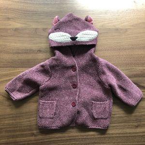 Baby Gap knot animal sweater